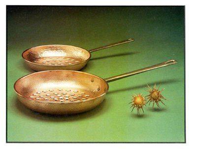 """""""Padelle per Castagne"""" dell'Arte del Rame di Federico Mosca"""