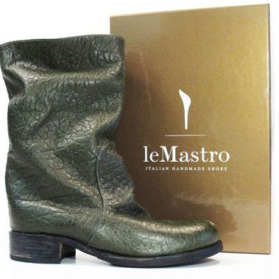 """Stivale modello cavallo """"Antelao green"""" del calzaturificio Le Mastro"""