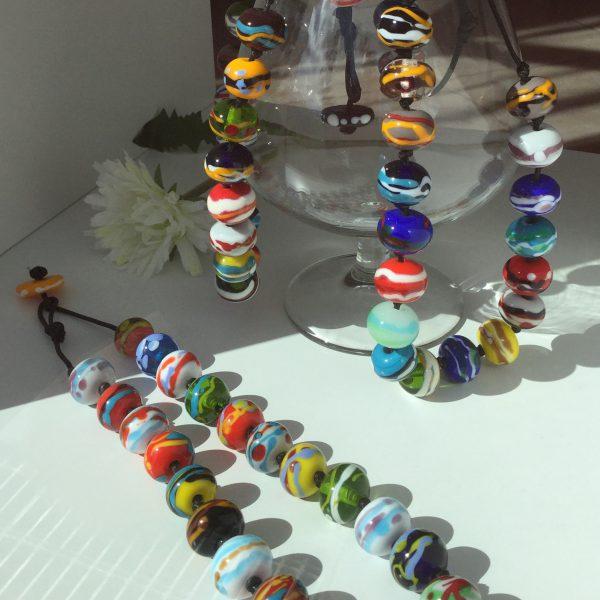 """""""Collana collezione Gaia"""" di MomentuM Glass"""