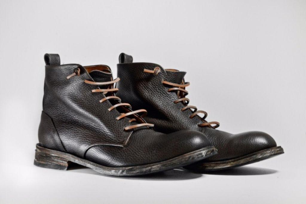 """Scarponcino modello """"James Dean Brown"""" del calzaturificio Le Mastro"""