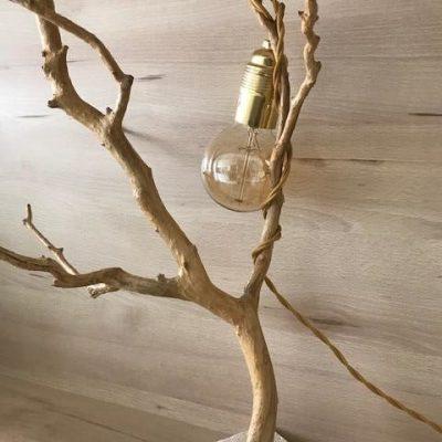 """Lampada in rame di bosso"" di Silvia's woodlamp"