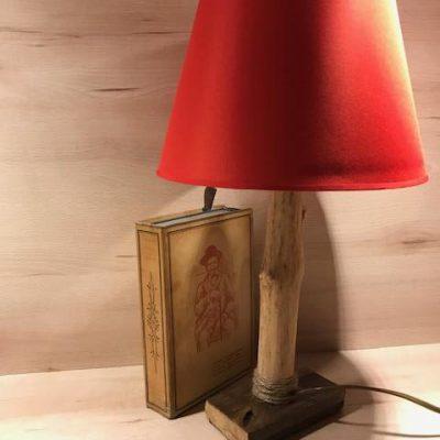 """Lampada in ramo di sambuco"" di Silvia's woodlamp"