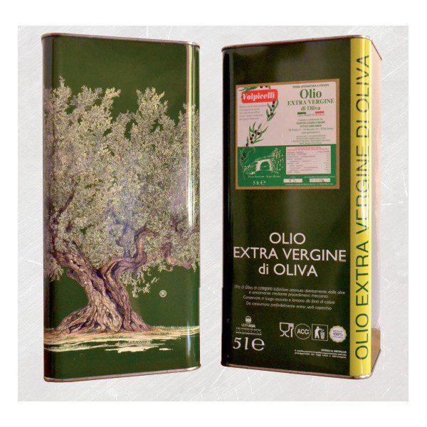 """""""Olio extra vergine di oliva"""" del Frantoio Volpicelli"""