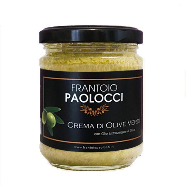 """""""Crema di Olive Verdi"""" del Frantoio Paolocci"""